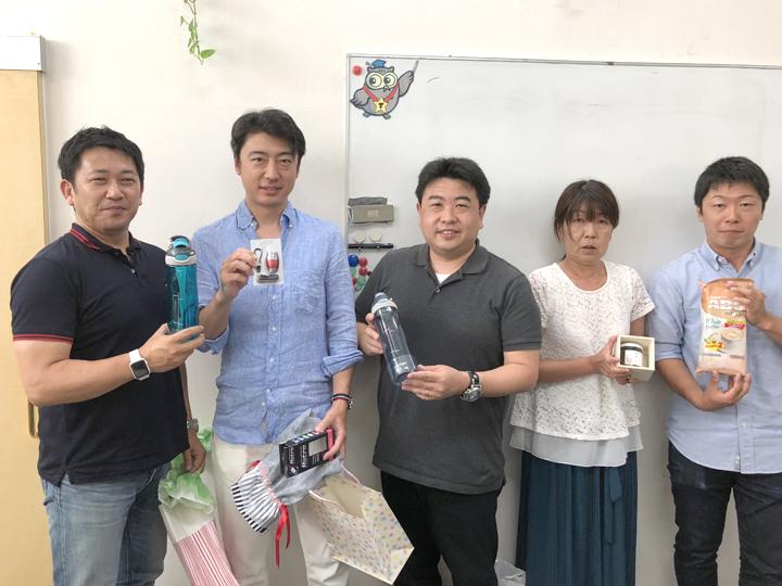【社内誕生会】June 2018